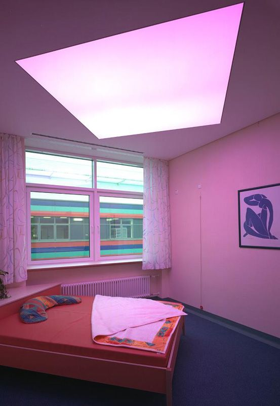 Illuminated Stretch Ceiling with color changing LED