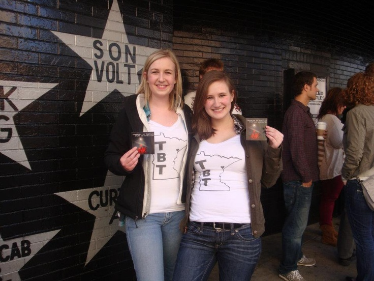 Outside First Ave waiting for the Trampled By Turtles show! 4/11/2012