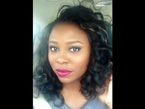 Straight Crochet Braids with Kanekalon Hair, Products used and How to Curl