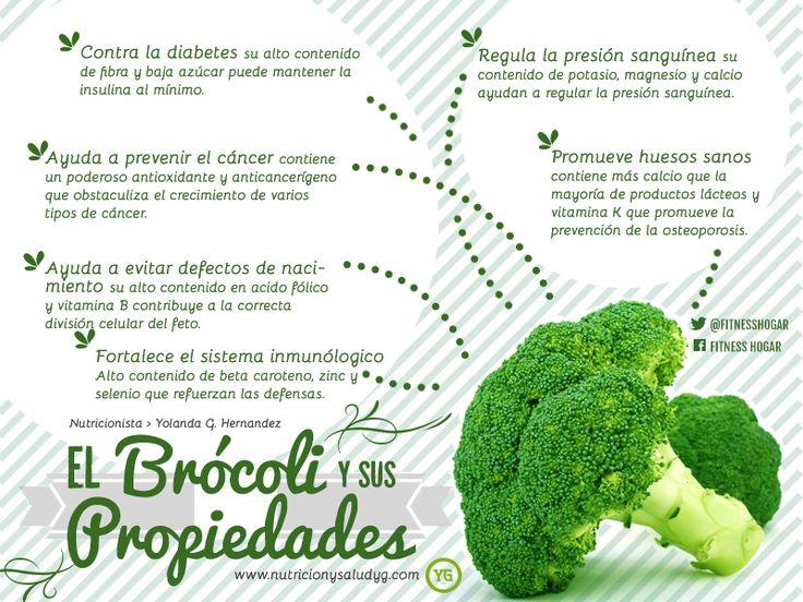 Brócoli propiedades y beneficios
