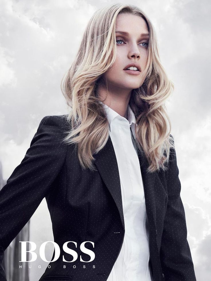 c62b55dc0928b Toni Garrn sieht in Hugo Boss Blacks Winterkampagne 2012 von Hunter & Gatti  scharf aus