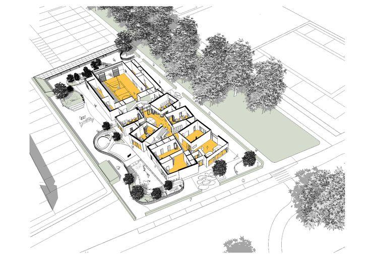 Image 24 of 30 from gallery of IKC de Geluksvogel / UArchitects. Ground floor plan
