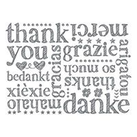 A World of Thanks Clear-Mount Background Stamp by Stampin' Up!