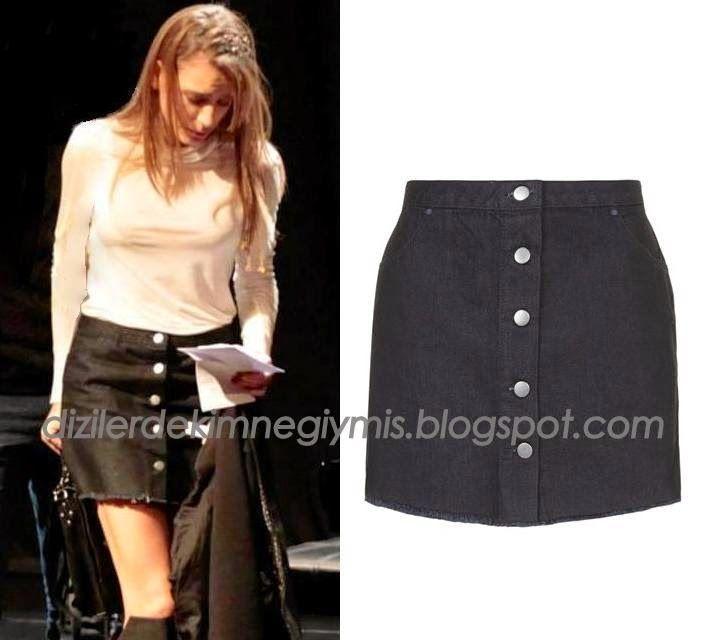 Medcezir - Mira (Serenay Sarıkaya), Topshop Black Skirt