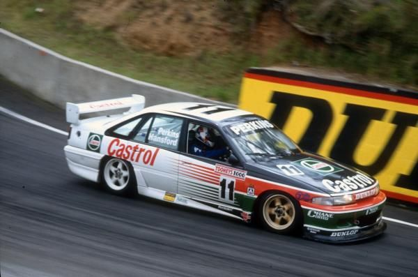 Larry Perkins VP stuck with the Holden V8 when everyone else was using the Chev.