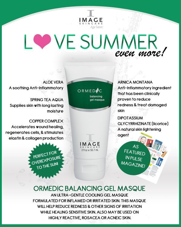 An ultra-gentle, organic cooling gel masque developed for compromised, inflamed or irritated skin. Organic Aloe Vera, Arnica Montana and licorice quickly help reduce redness and other signs of irritation while bringing sensitive skin into healthy balance. Also may used for highly reactive, rosacea or acneic skin types