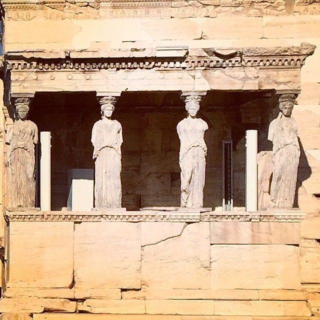 #Parthenon #Acropolis #Athens #Karyatides  Photo credits: @haakan_