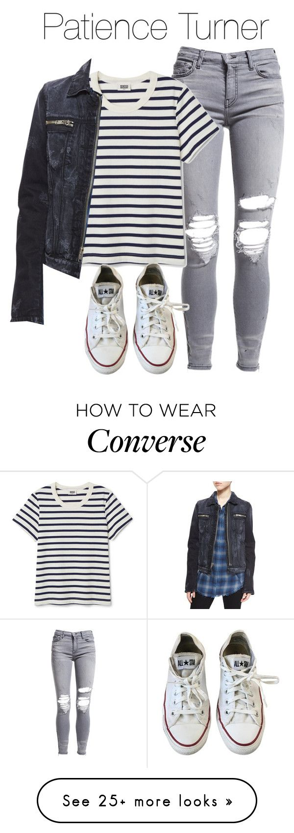 """""""Patience Inspired Outfit"""" by demiwitch-of-mischief on Polyvore featuring AMIRI, RtA, Converse, supernatural, spn, WaywardSisters and patienceturner"""