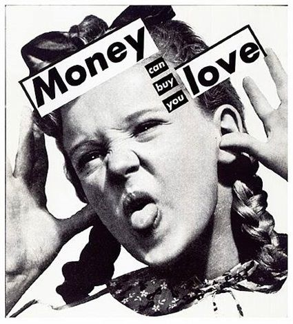 Barbara Kruger Untitled (Money can buy you love) Sprüth Magers