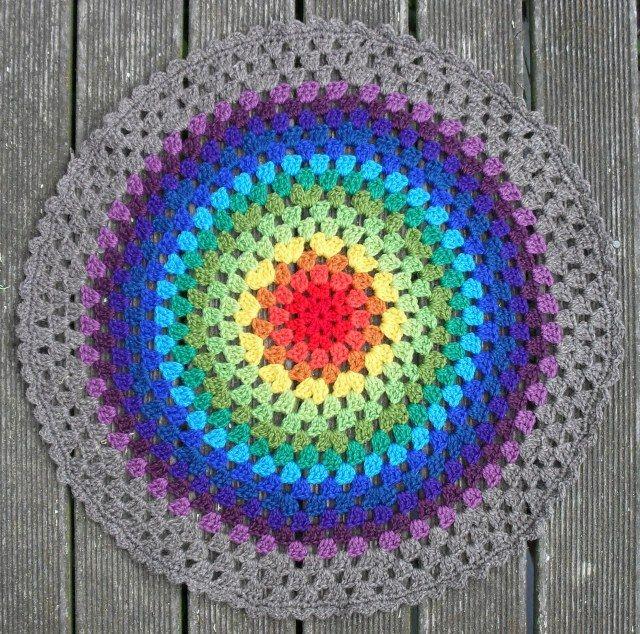 Round, Rainbow, Granny
