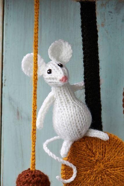 Knitting Patterns Toys Alan Dart : Hickory Dickory Dock pattern by Alan Dart Ravelry, Hickory dickory dock and...