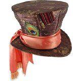 Alice in Wonderland Mad Hatter Hat   Costume Idea for Halloween & Mardi Gras