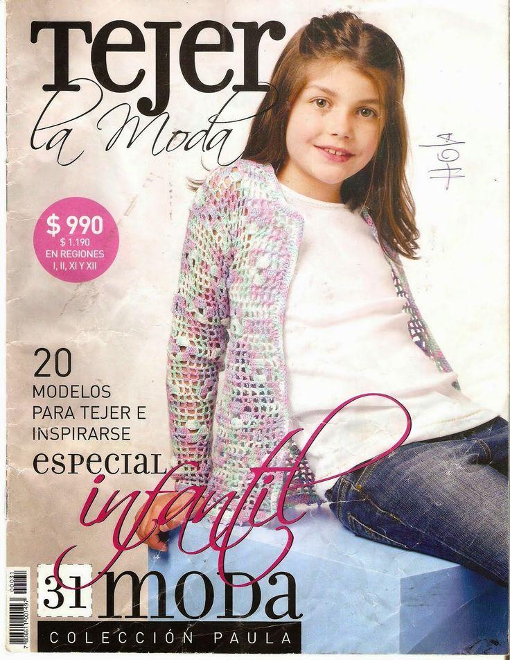 Tejidos realizados con amor para ti ...: Revista Tejer la Moda 34