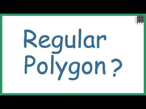 What is a Regular Polygon? - YouTube