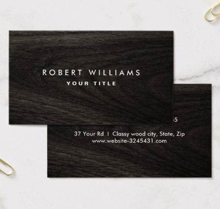 24 best images about Dark stylish business cards – Professional Business Profile