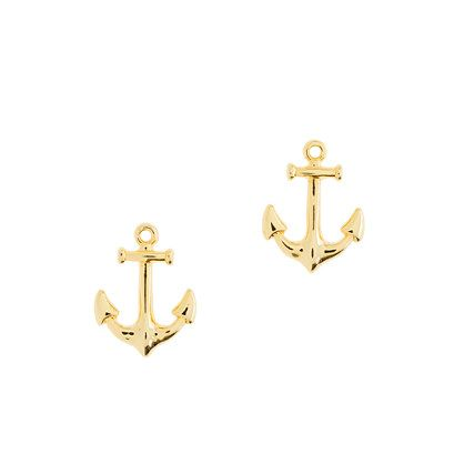 Anchor earrings - earrings - Women's jewelry - J.Crew