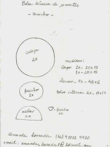 molde+bolsinha+termica+-+urso.JPG (467×624)