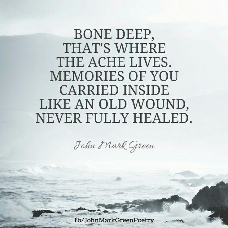 The bones...Yes!   I feel your loss down deep in my bones as well as my heart.