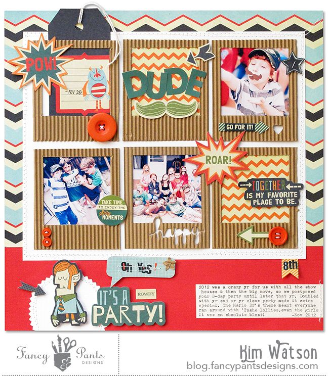 234 Best Images About Birthday Scrapbooking On Pinterest