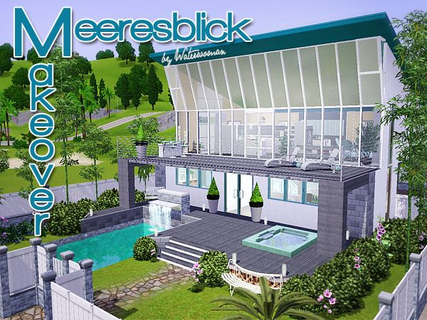 Meeresblick House By Waterwomen   Sims 3 Downloads CC Caboodle
