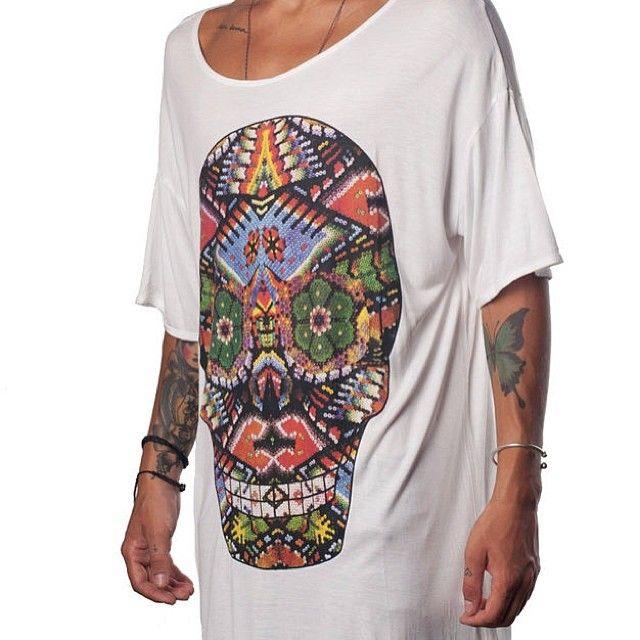 EGR Peyote Eye Skull Tee http://pasar-pasar.com/collections/egr