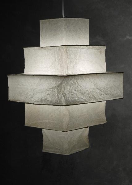 5 tier yoko rice paper lantern 21 16 accessories lighting fixtures pinterest chang 39 e - Paper lighting fixtures ...