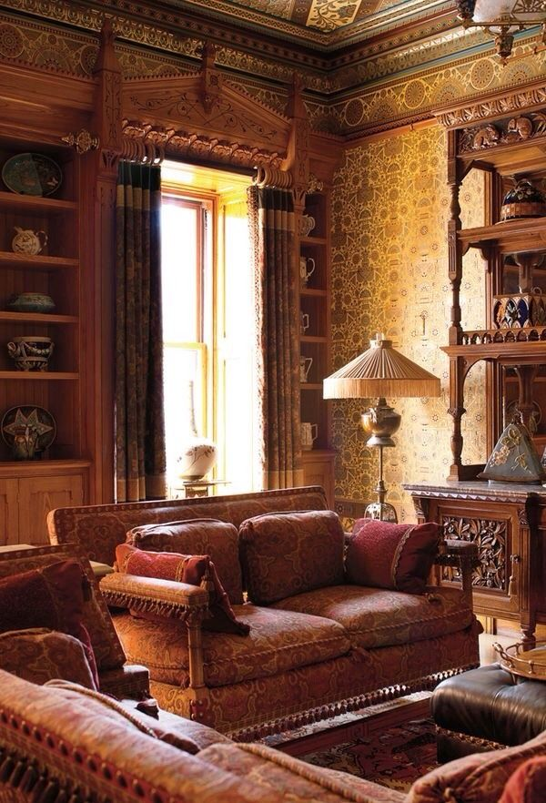 Was I Again A Noise Mad Moiselle Bulle Michael And Margie Loeb Victorian Interiors Victorian Interior Victorian Living Room