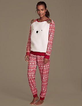 Square Bear Pyjamas