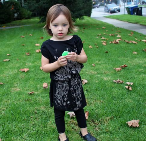 Two Minute T-Shirt Dress   Prudent Baby