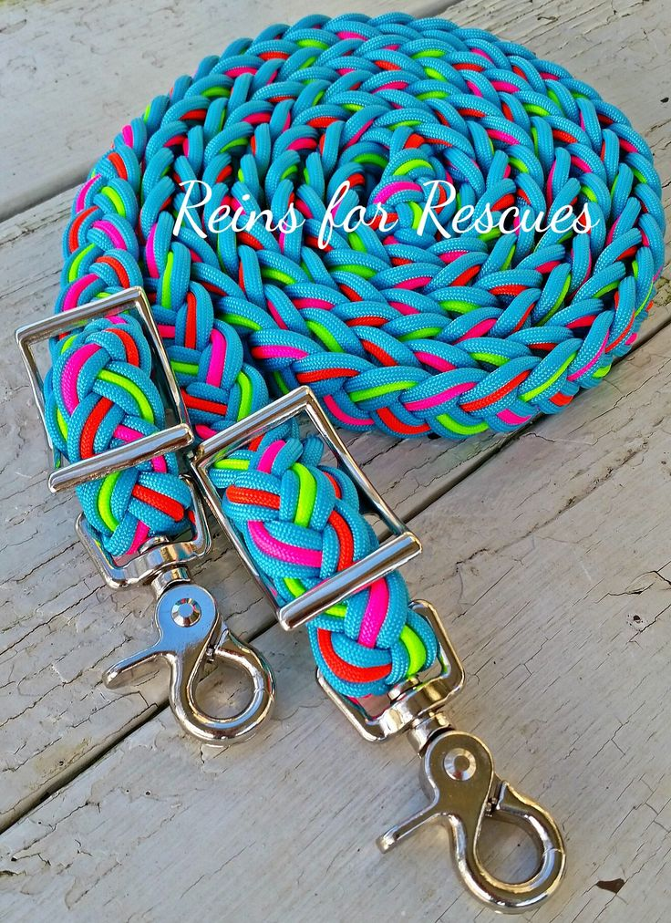 "Rescue Line: ""Summer's Not Over!"" Adjustable Riding Reins"