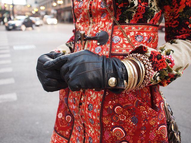 abrigo imitando el estilo ruso.