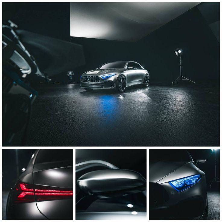 Kom nærmere, og nyd detaljerne i Mercedes-Benz Concept A Sedan.