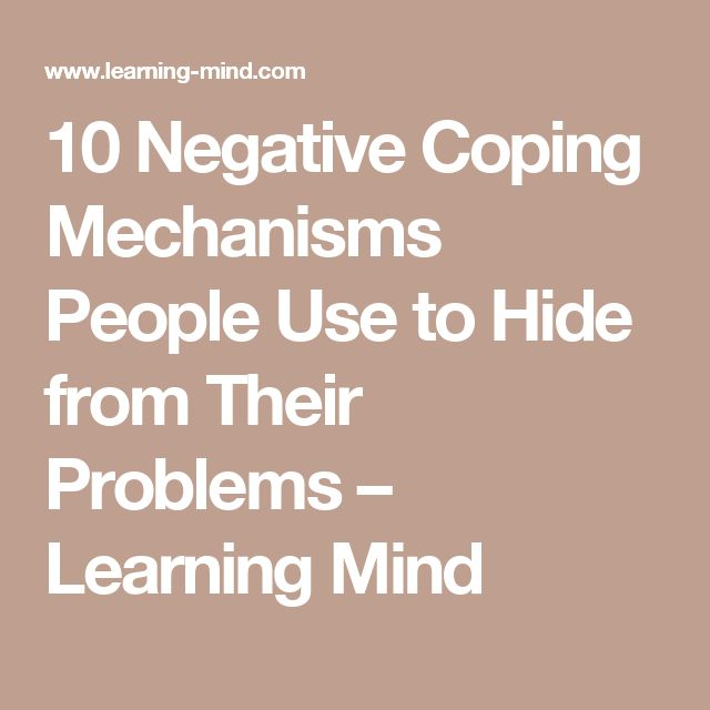 how to develop coping mechanisms