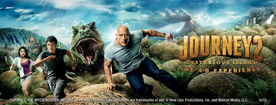 """The new 4-D movie features the 2012 released Hollywood blockbuster - 'Journey 2: The Mysterious Island', starring original casts like Dwayne Johnson a.k.a. """"The Rock"""", Michael Caine, Luis Guzman, Josh Hutcherson and Vanessa Hudgens, into a 4-D format that will be screened exclusively at the Sentosa 4D AdventureLand. The premiere in Asia shall replace the long running 4-D movie, 'Pirates' that was run since its opening in 2005."""