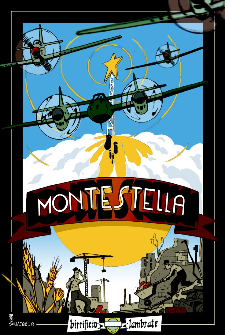 Birra MONTESTELLA  stile Helles 5%vol.