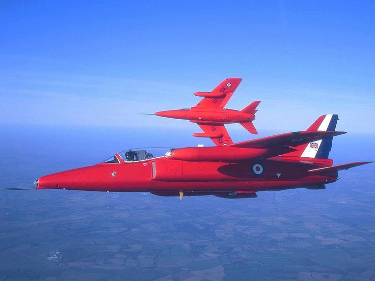 Hawker Siddeley Gnat T Mk1 (Red Arrows livery)