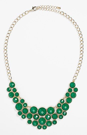 Devan Statement Necklace (Juniors) available at #Nordstrom