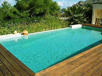 63 best images about piscina casa on pinterest ladera for Crystal water piscinas