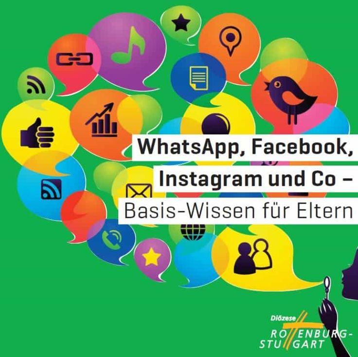 Basis Wissen für Eltern zum Thema Soziale Netzwerke, WhatsApp, Facebook, Instagram, für Eltern, Medienpädagogen kostenlose Broschüre
