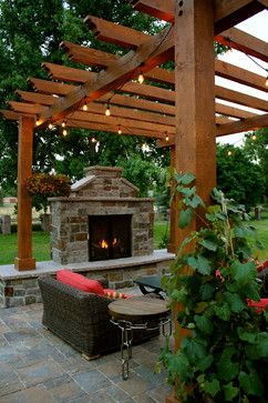 Innovative Design traditional patio