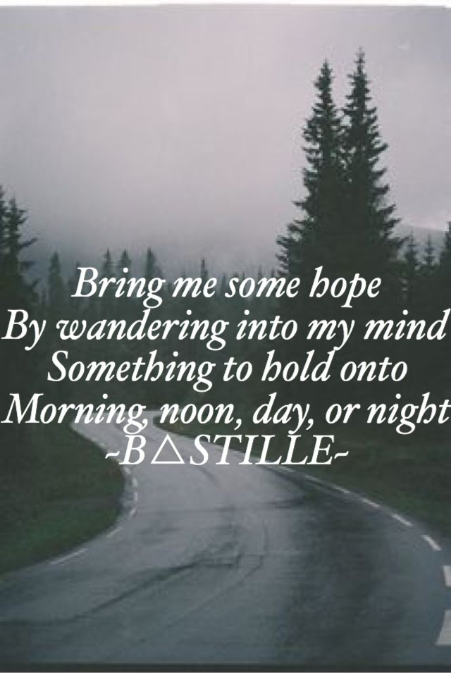 The Anchor- Bastille  From the album Wild World 2016