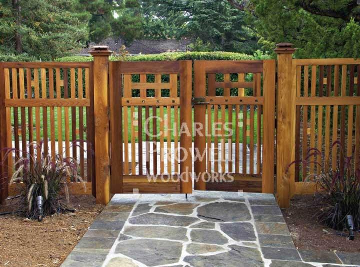 garden fencing gate