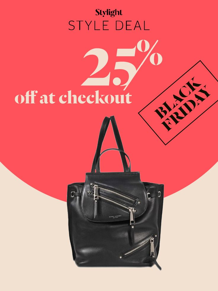 Black Friday Style Deal: with Monnier Frères the Marc Jacobs backpack is 25% off
