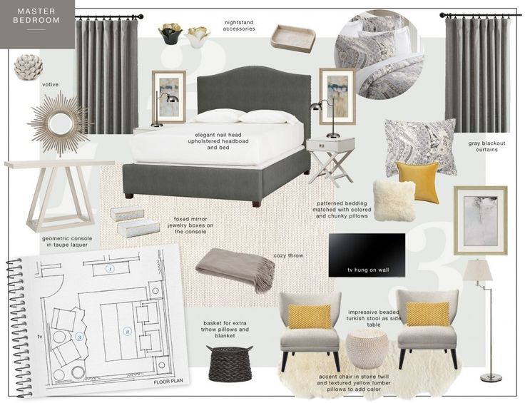 √ Interior Design Presentation Board Layout | Interior Design ...