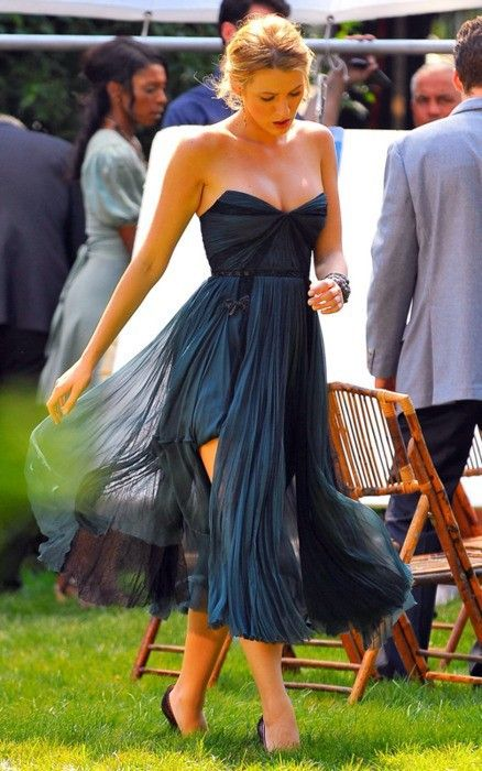 Beautiful!!: Summer Wedding, Parties Dresses, Bridesmaid Dresses, Blake Living, Blake Lively, Shorts Dresses, The Dresses, Chiffon Dresses, Gossip Girls