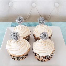 Cupcakes au champagne VEGAN (Recipe in French)