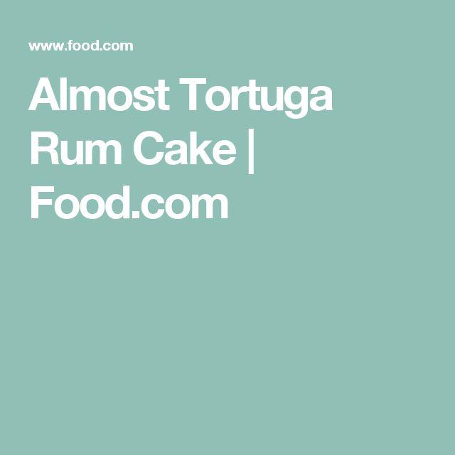 Almost Tortuga Rum Cake | Food.com