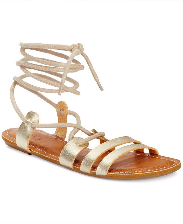 Roxy Sphinx Lace-up Gladiator Sandals - Sandals - Shoes - Macy's