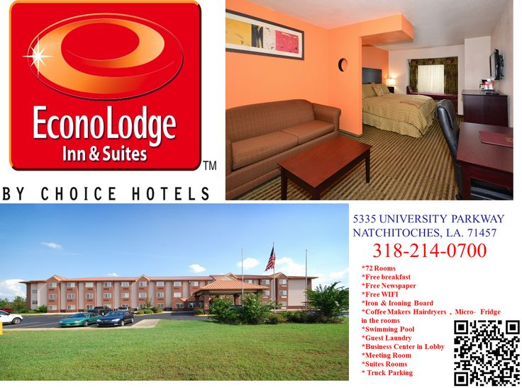 Book A Room At The Green Friendly Econo Lodge Inn Suites In Natchitoches La This Hotel Is Located Near Northwestern State University