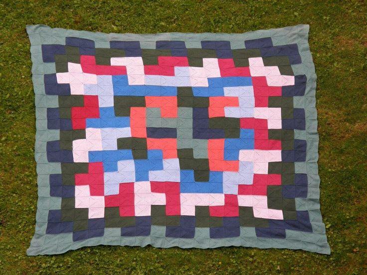 Gehaakte deken voor picknick